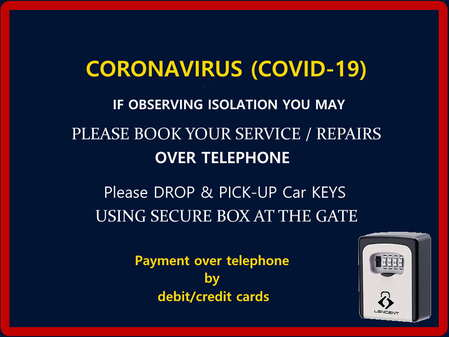 Cardiff South Wales - Workforce Isolation CORONAVIRUS (COVID-19)